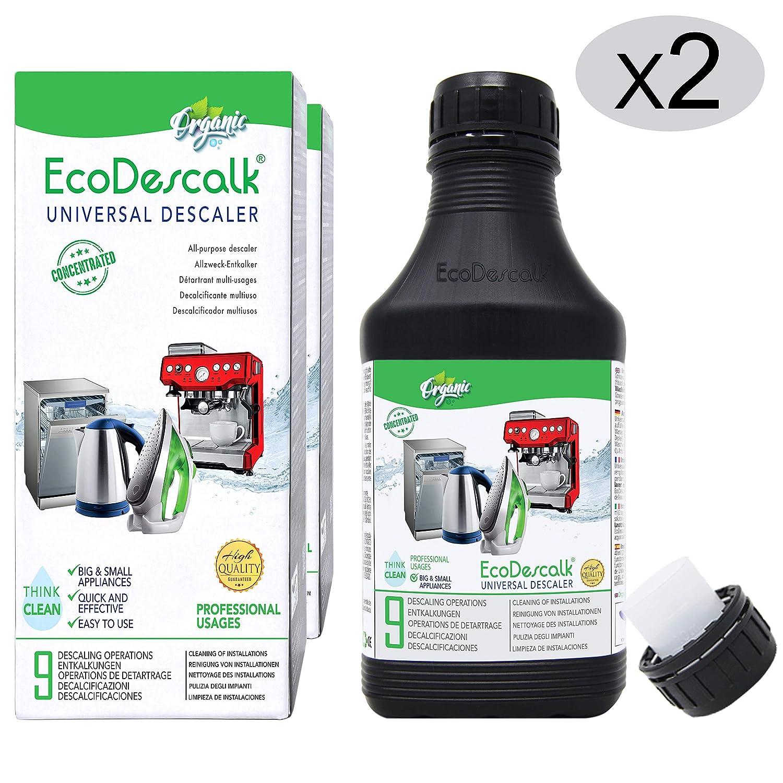 EcoDescalk Universal Ecológico Concentrado 2x9 Descalcificaciones ...