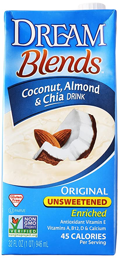 Dream - Coco, almendra y original de la bebida de Chia sin azucarar - 32