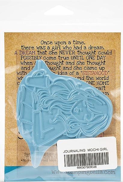 Journaling Mochi Girl STAMPING BELLA Stamp
