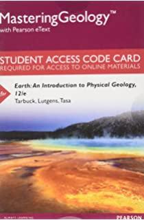 Earth an introduction to physical geology books a la carte masteringgeology with pearson etext standalone access card for earth an introduction fandeluxe Gallery