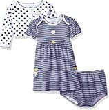 Little Me Baby Girls' Dress with Cardigan