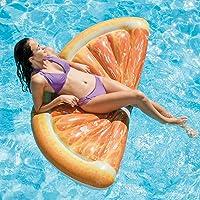 Intex Orange Slice Inflatable Mat with Realistic Printing (70