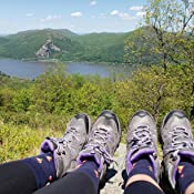 Multiple Sizes New Itasca Womens Vista Hiking Boots Realtree And Gray//Purple