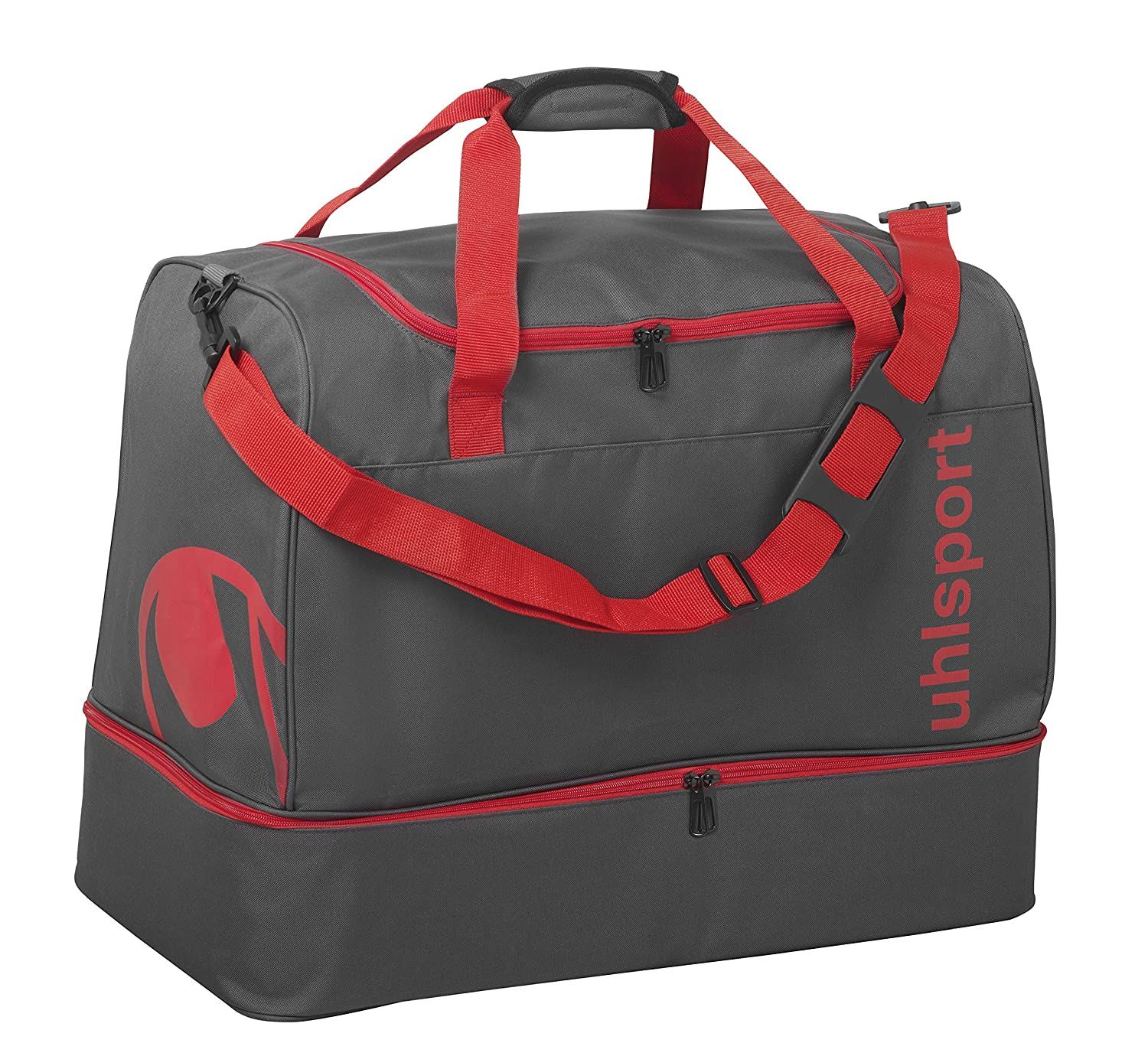 uhlsport Essential 2.0 Players Bag 75L 45 cm 75 liters Mehrfarbig (Anthracita/Rojo) 100425603
