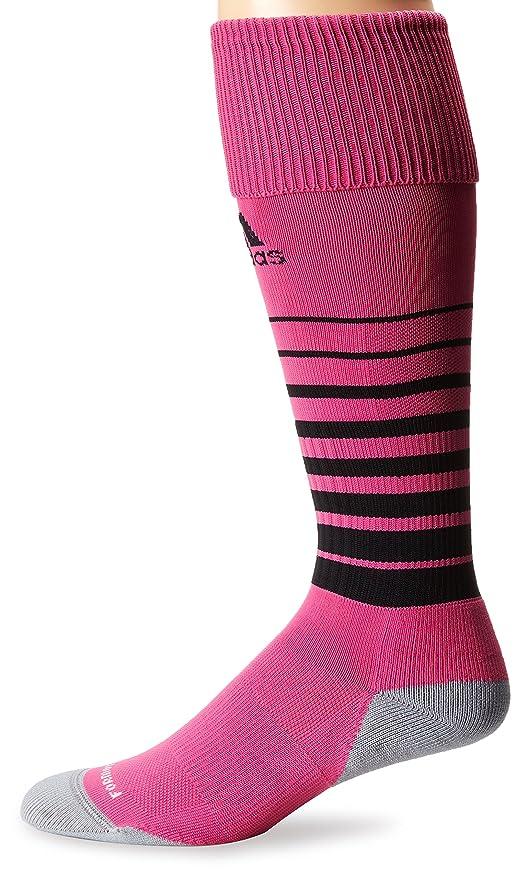 adidas Equipo velocidad fútbol calcetines - 5130114, Rosado intenso/Negro