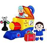 Etna My Choo Choo Train Play Set with Sound | Soft Plush Locomotive Engine Car | Fun Baby Infant Toddler Kids Toys…