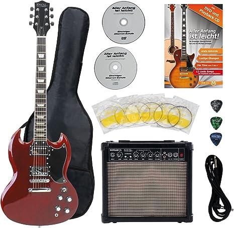 Rocktile Pro S-R – Guitarra eléctrica Heritage, juego para ...
