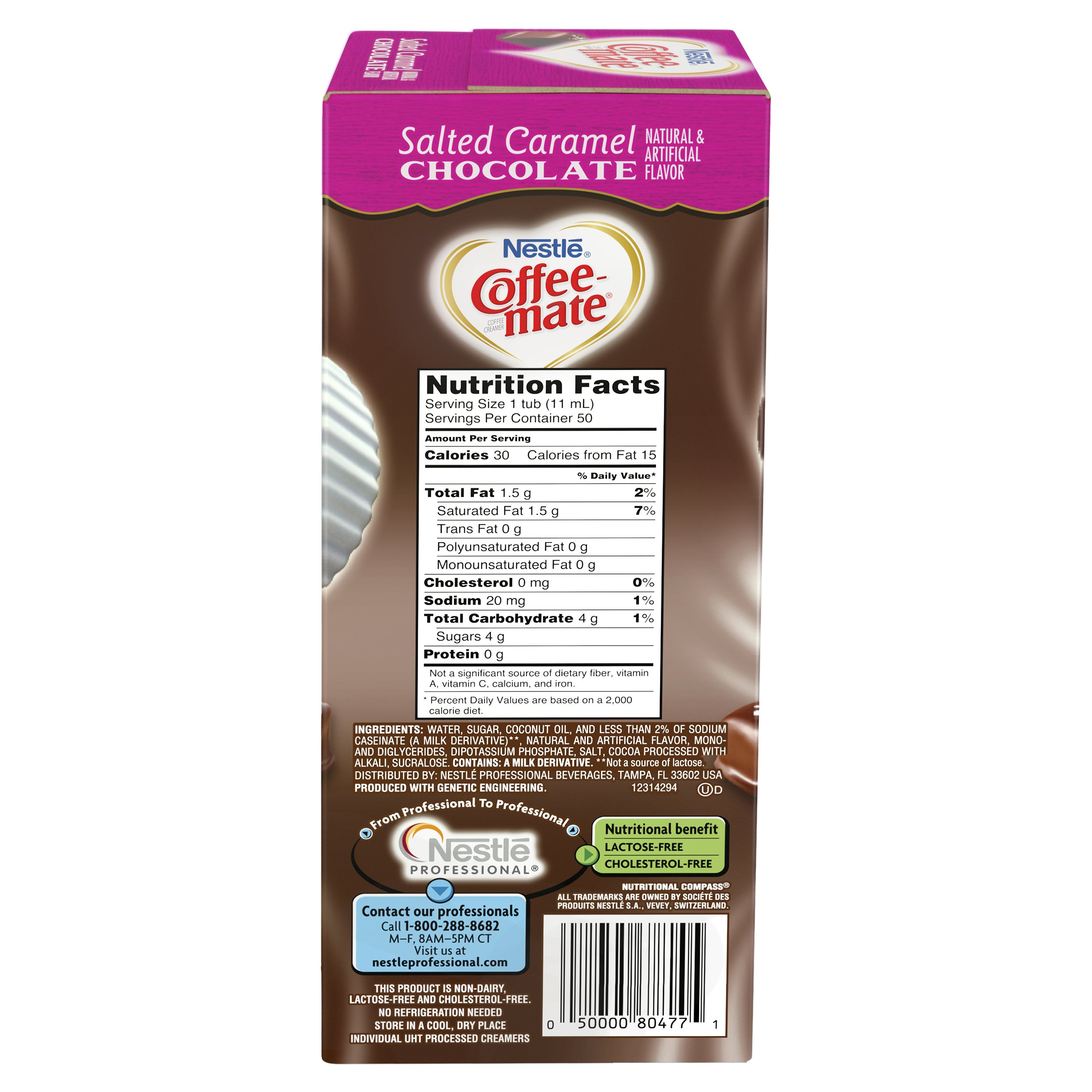 NESTLE COFFEE-MATE Coffee Creamer, Salted Caramel Chocolate, liquid creamer singles, 50 Count, Pack of 4 by Nestle Coffee Mate (Image #3)