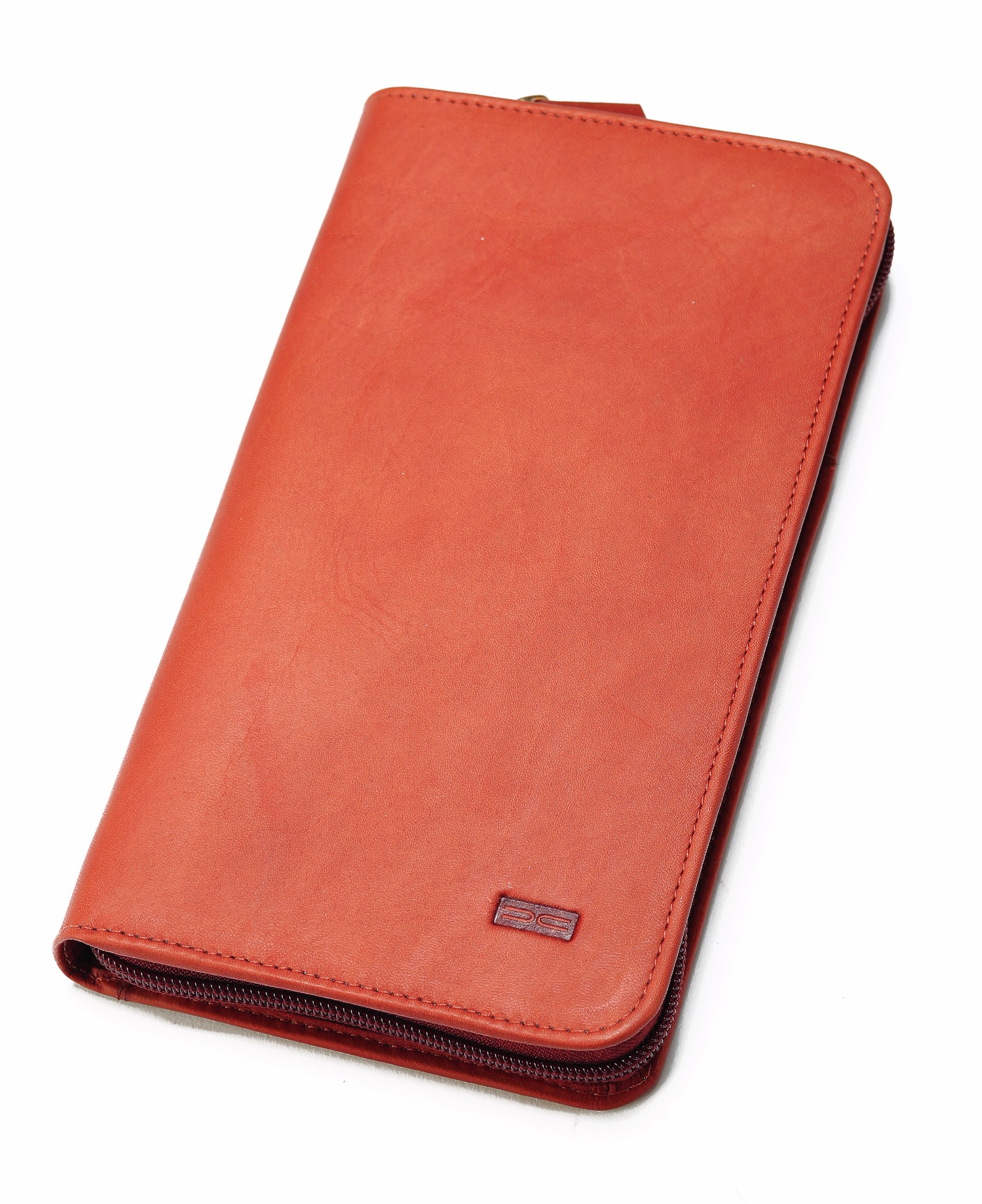Claire Chase Travel Wallet, Saddle, One Size