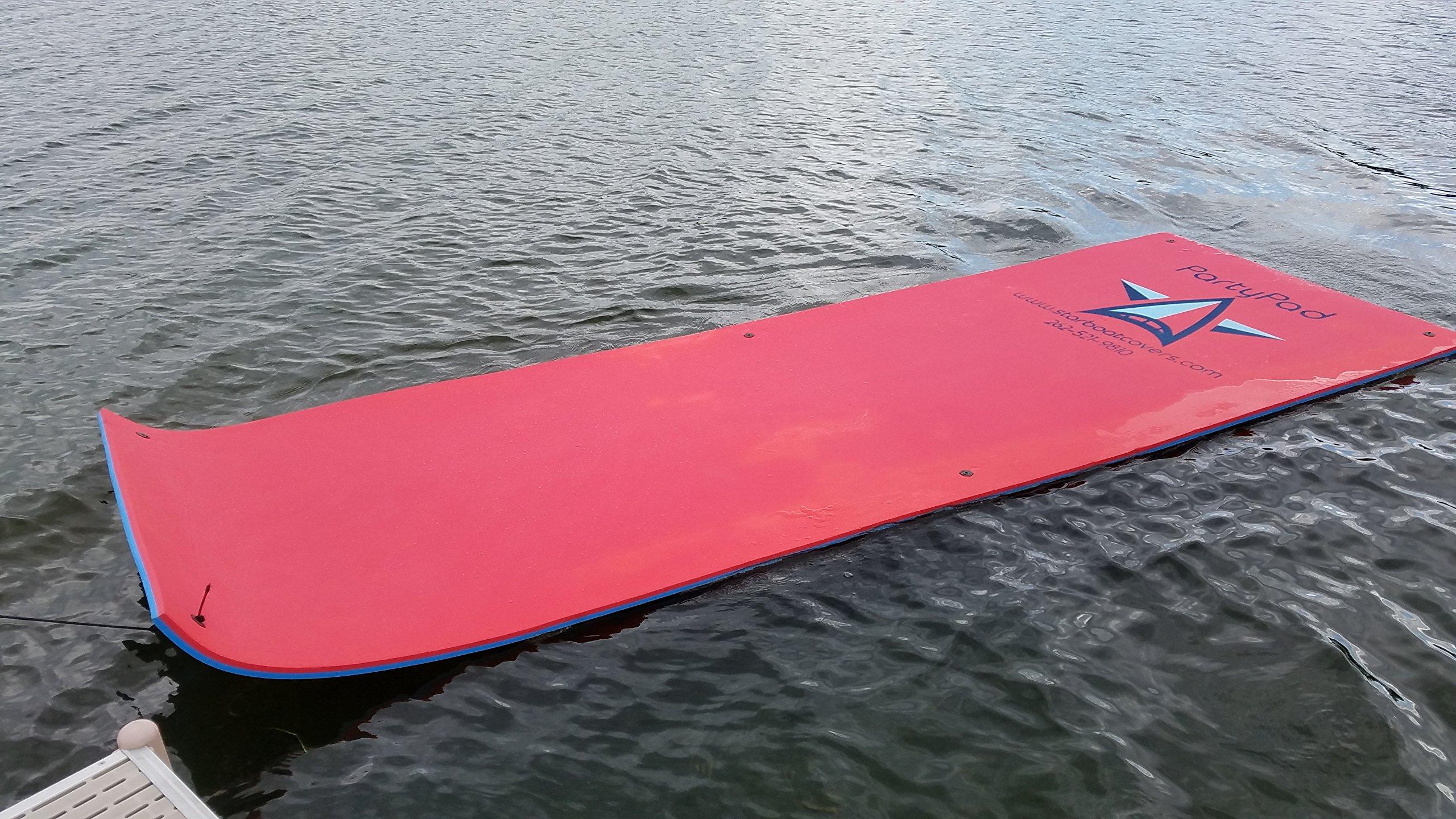 Vico Marine Floating Foam Pad - Red/Blue by Vico Marine (Image #2)