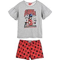 Ladybug T-shirt och shorts för flickor