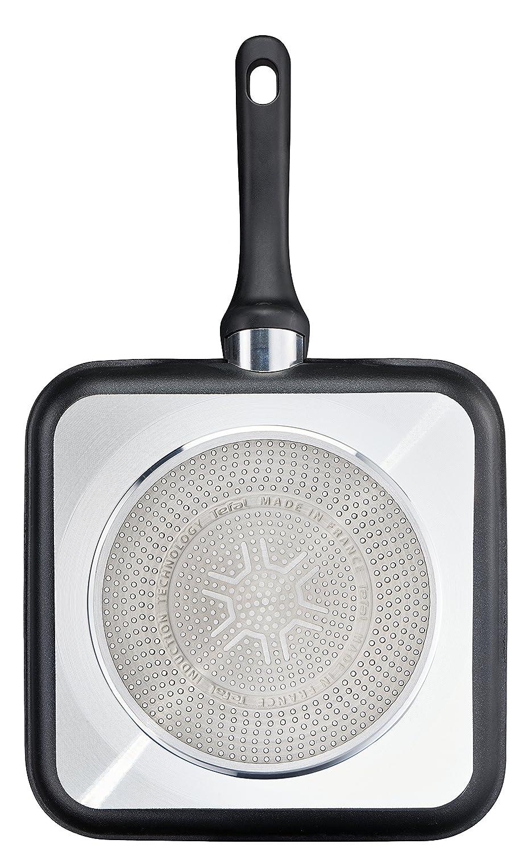 Tefal Expertise GV5 C62040 Grill pan Squre - Cacerola (Squre, Grill pan, Negro, Titanium Excellence, 175 °C, Thermo-Spot, 26 x 26 cm): Amazon.es: Hogar