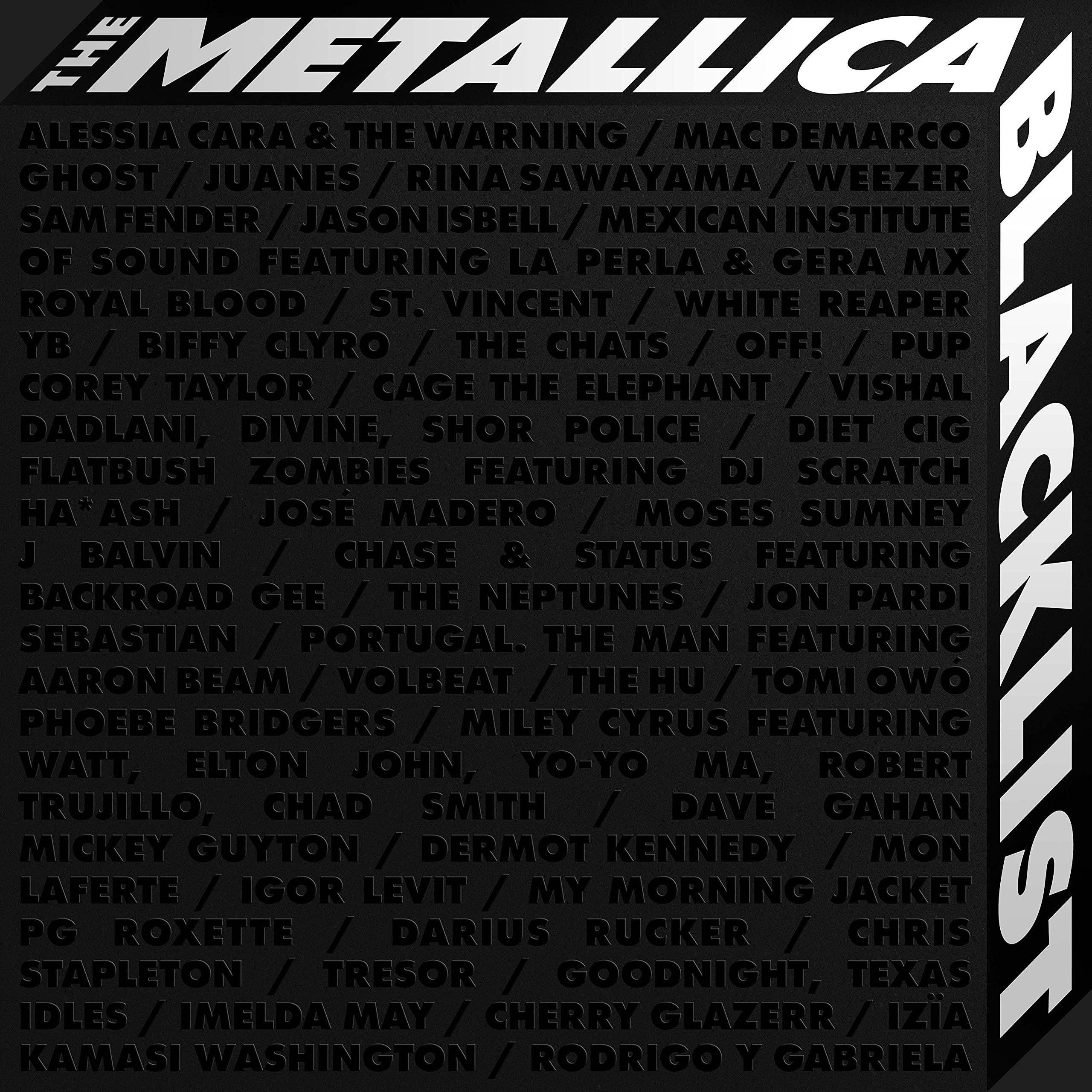 Book Cover: The Metallica Blacklist