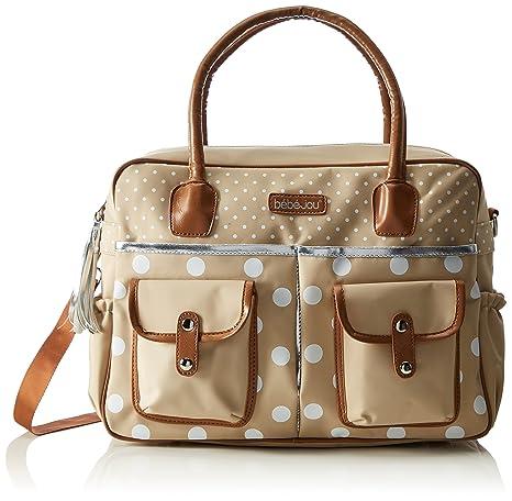 Amazon.com : B?b?-jou Diaper Bag (Natural) : Baby
