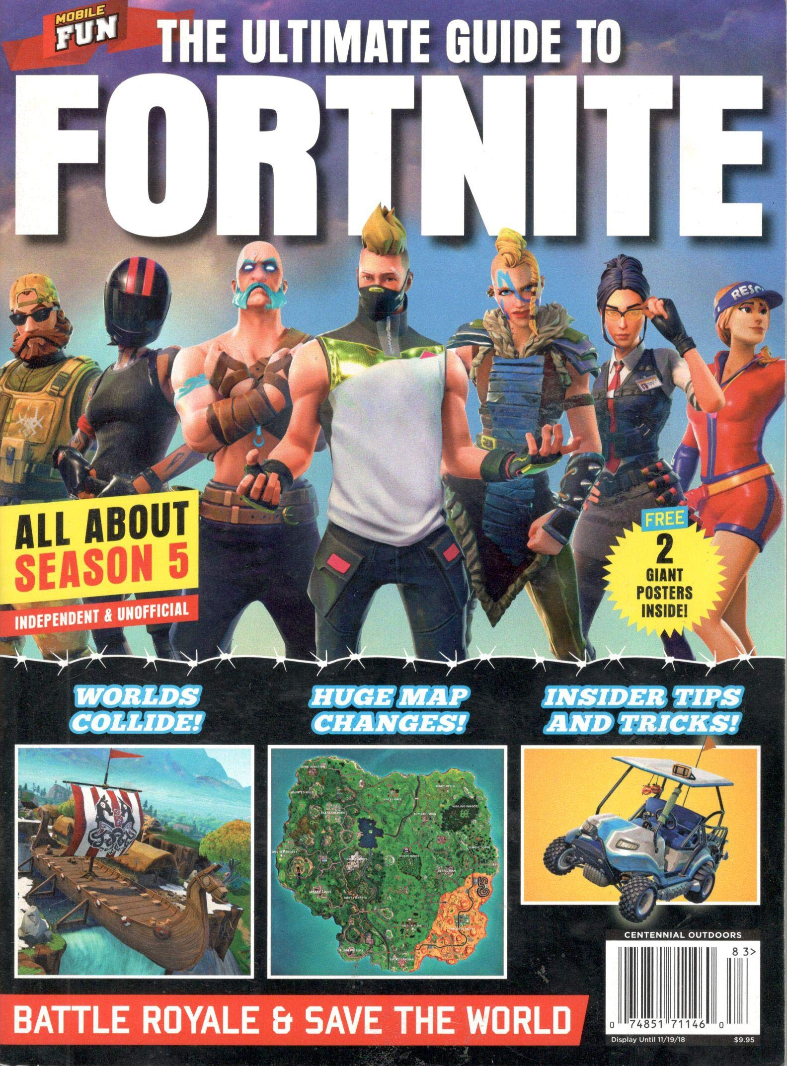 The Ultimate Guide To Fortnite Magazine All About Season 5
