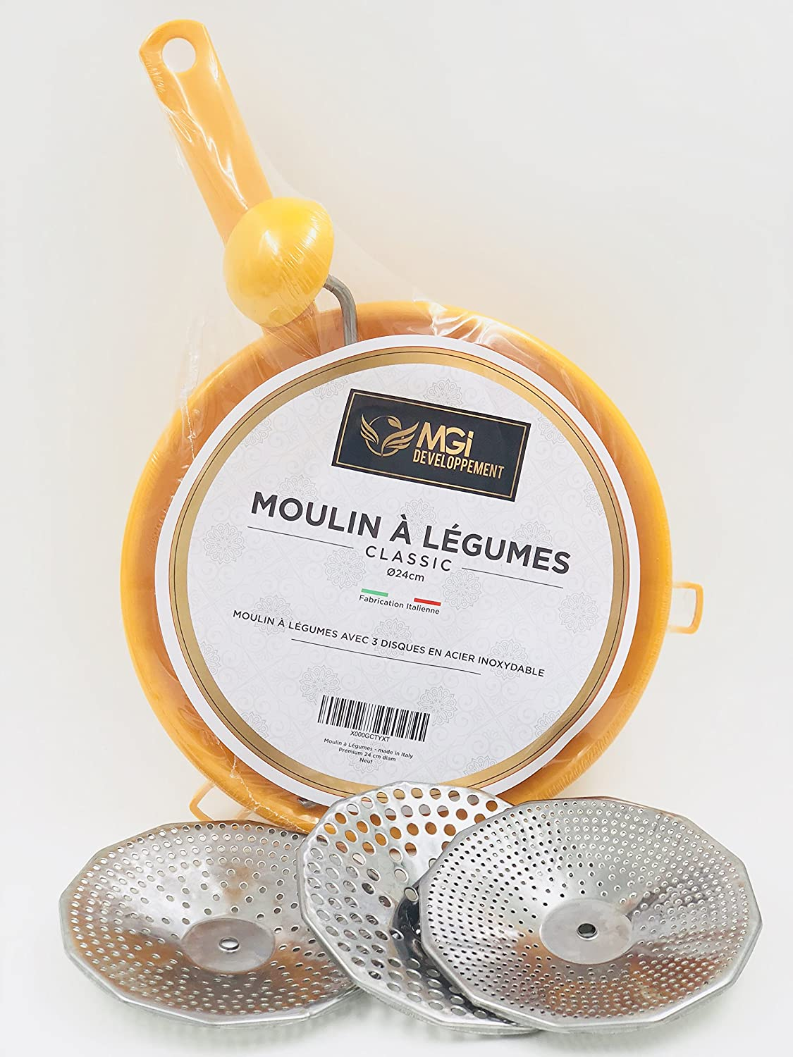 Developpement DiamAmazon Moulin Made In À Italy 24 Cm Mgi Légumes zGSVpqMU