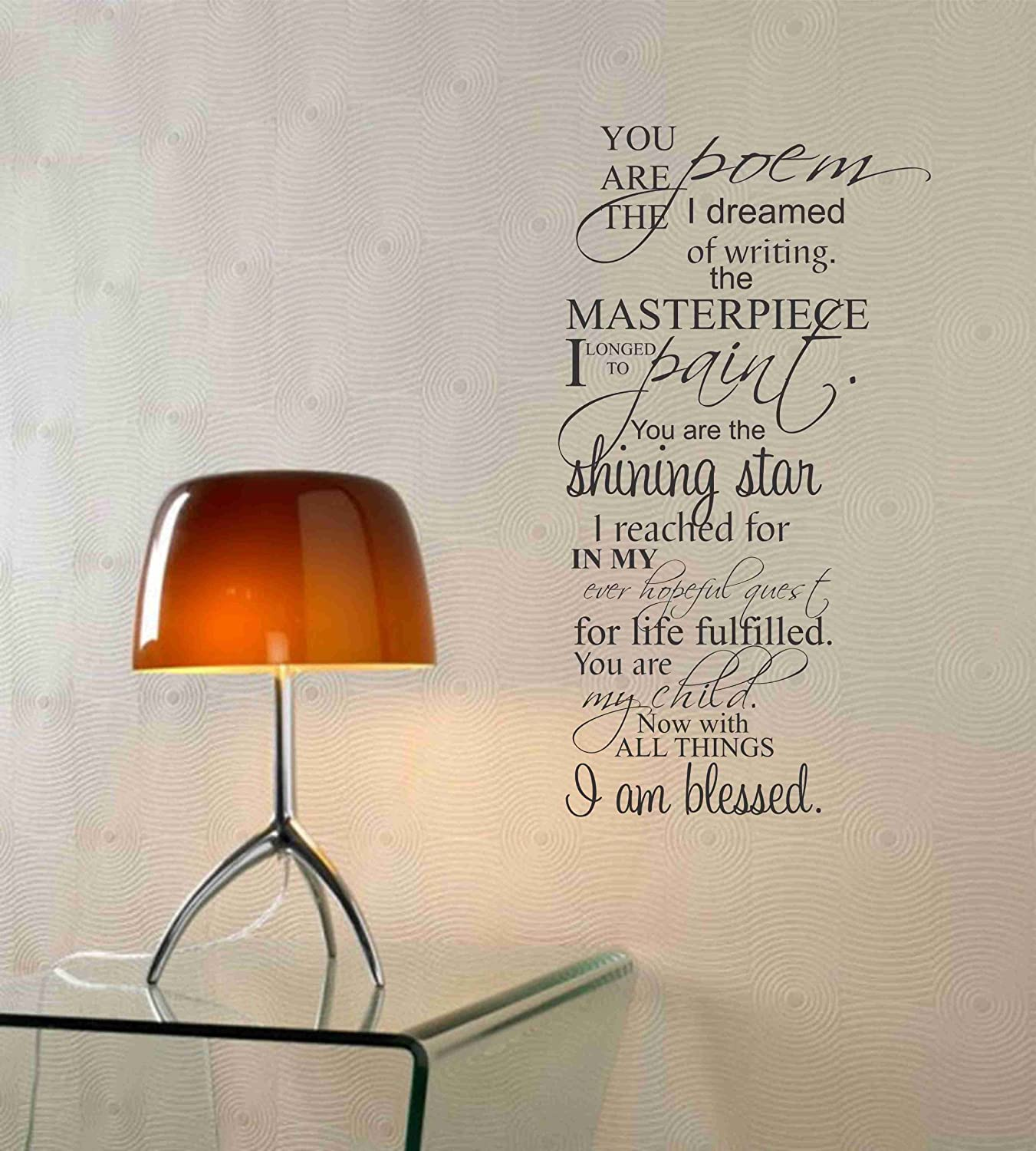 wall writing decor Personalizing your home, apartment or office has never been easier our many custom decal designs let you make a statement with your decor plus, easy removal prevents permanent damage to your walls shop our wide selection of wall quotes online today.