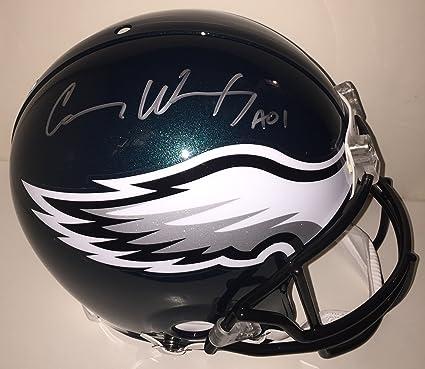 e97a3cec Amazon.com: Carson Wentz Autographed Philadelphia Eagles Proline ...