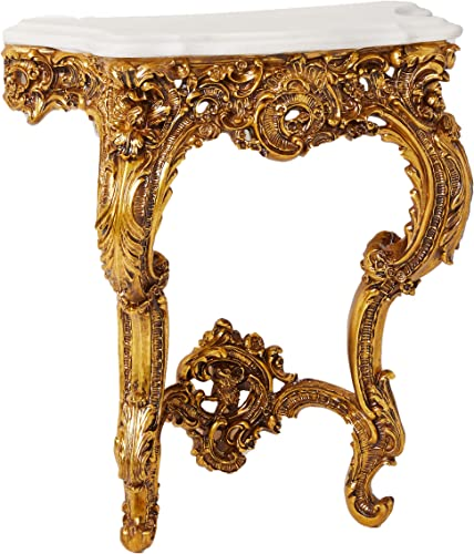 Design Toscano Madame Antoinette Wall Mount Console Table