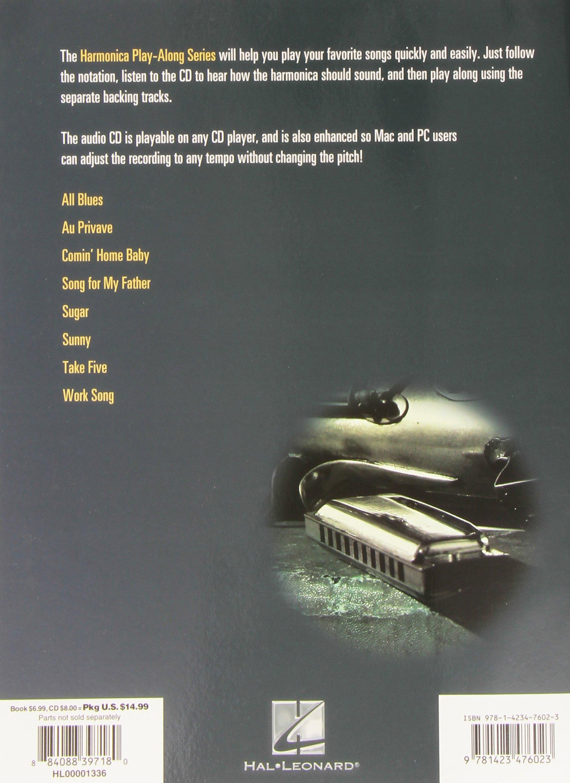 Amazon.com: Jazz Classics: Harmonica Play-Along Volume 15 (Book/CD) (Hal  Leonard Harmonica Play-Along) (9781423476023): Hal Leonard Corp.: Books