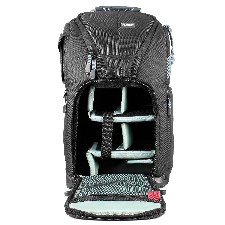 Amazon.com   Vivitar VIV-DKS-18 Small Camera Backpack (Black)   Laptop  Computer Backpacks   Camera   Photo