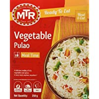 MTR Ready to Eat, Vegetable Pulao, 250g Pack