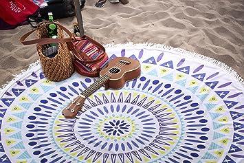 Toalla de Playa, Leeron Tapiz de Pared, Manta de Playa Mandala, Alfombra de
