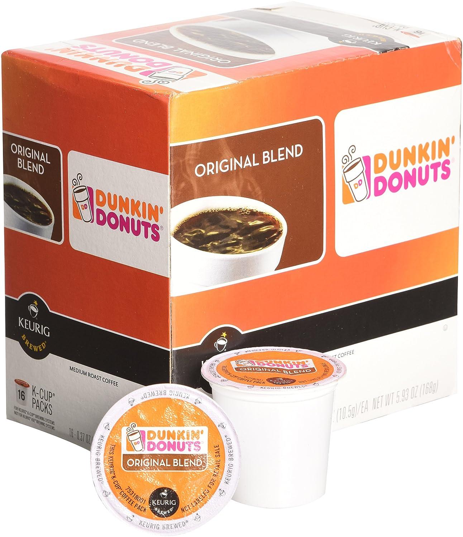 32 Count Dunkin Donuts Original Flavor Coffee KCups For Keurig K