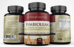Weight Management with Green Tea, Apple Cider Vinegar, bee Pollen, Royal Jelly and More