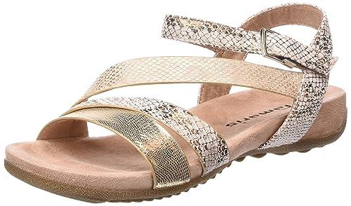 Tamaris Damen Sandalen Pink Schuhe