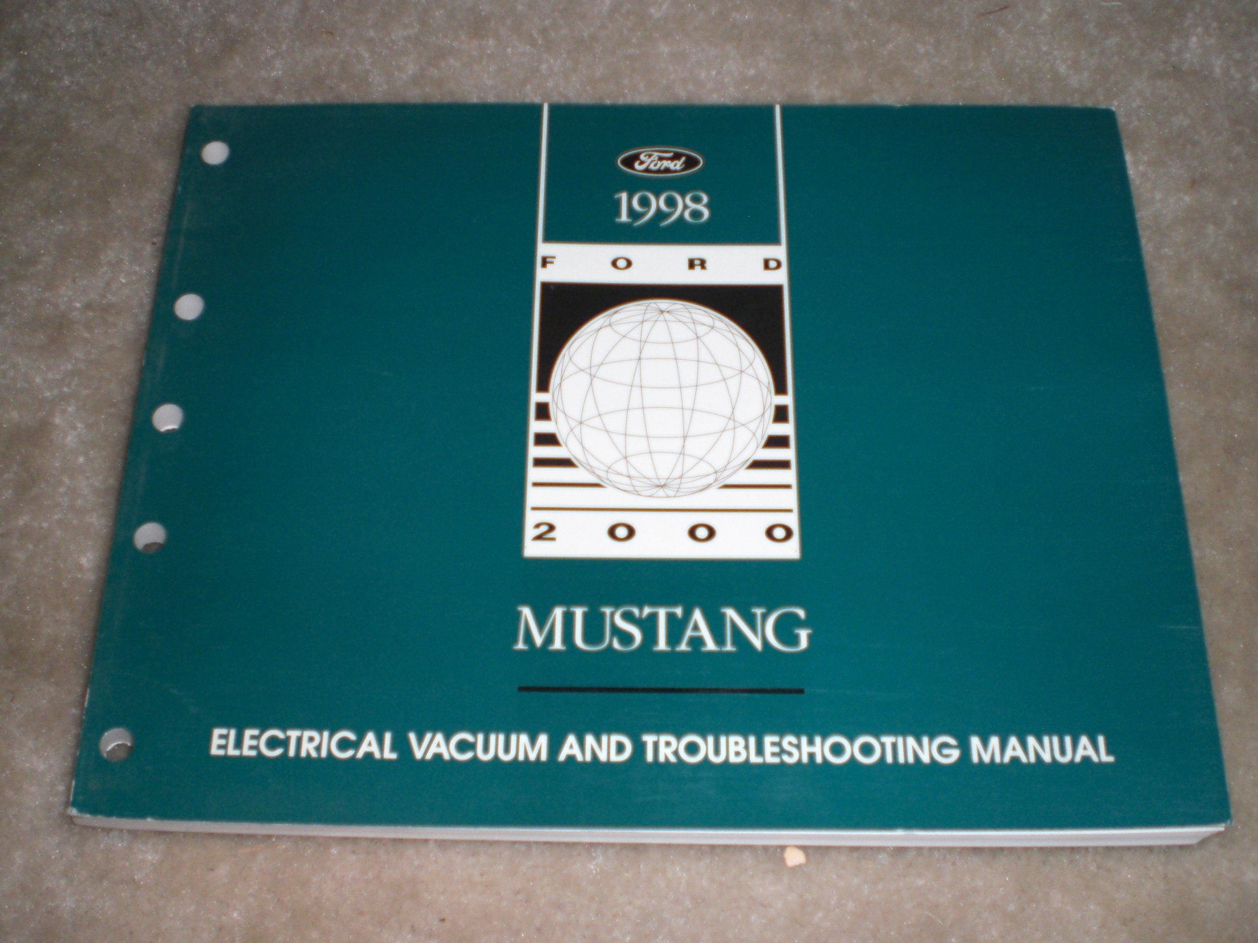1998 Ford Mustang Electrical & Vacuum Troubleshooting Manual Original: ford  motor co.: Amazon.com: Books