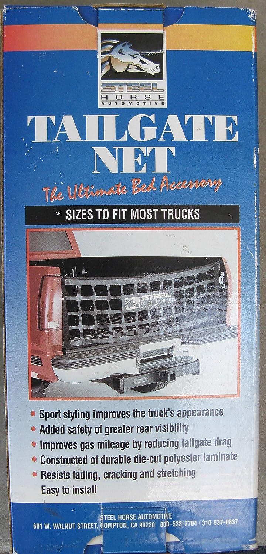 Steel Horse Automotive 80001 Tailgate Net - Black Product Smith