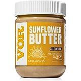 Vör All Natural Sunflower Seed Butter (12oz)   Only One Ingredient   No Sugar, No Salt   Vegan, Paleo, Keto, Whole 30