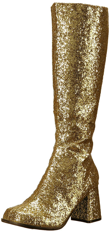 Ellie Shoes Women's Gogo-g Chelsea Boot B06Y41XTQZ 7 B(M) US Gold