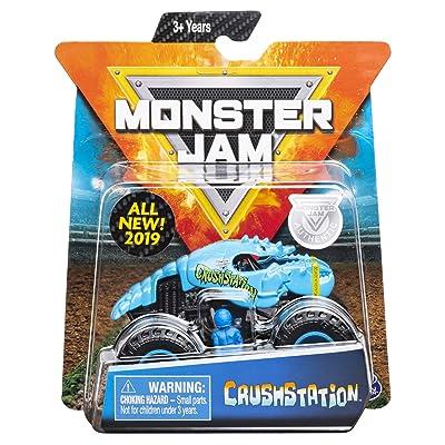MJ 2020 Monster Jam Crushstation: Toys & Games