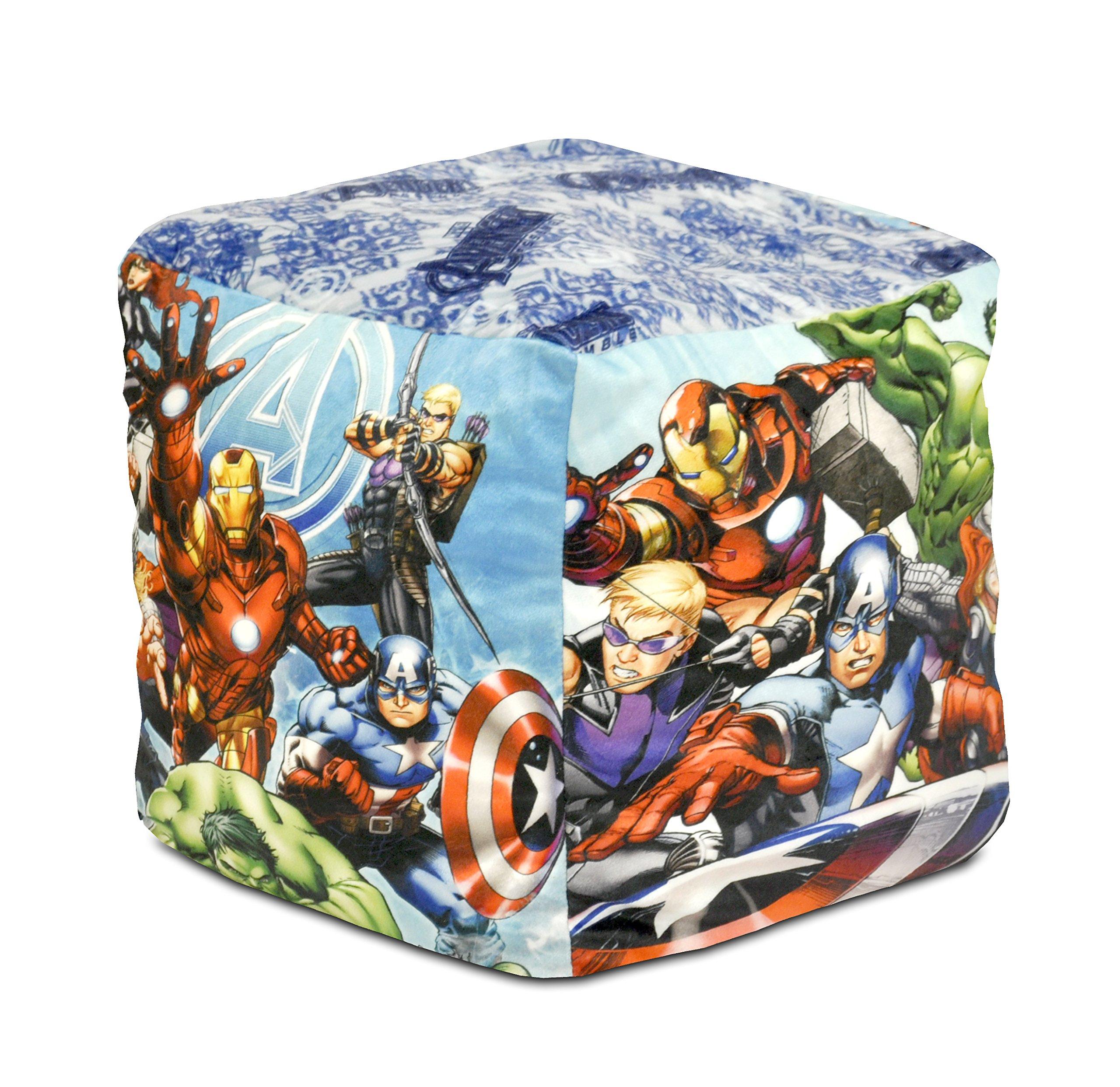 Marvel Avengers Square Pouf by Marvel