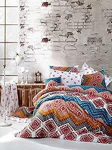 ان فوج حجم مفرد,متعددة,نمط مطبوع,متعدد الالوان - مجموعات اغطية لحاف السرير
