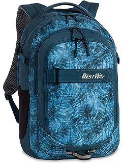 afa44ddd6b57a fabrizio Best Way Rucksack 48cm 5006 dunkelblau marineblau  Amazon ...