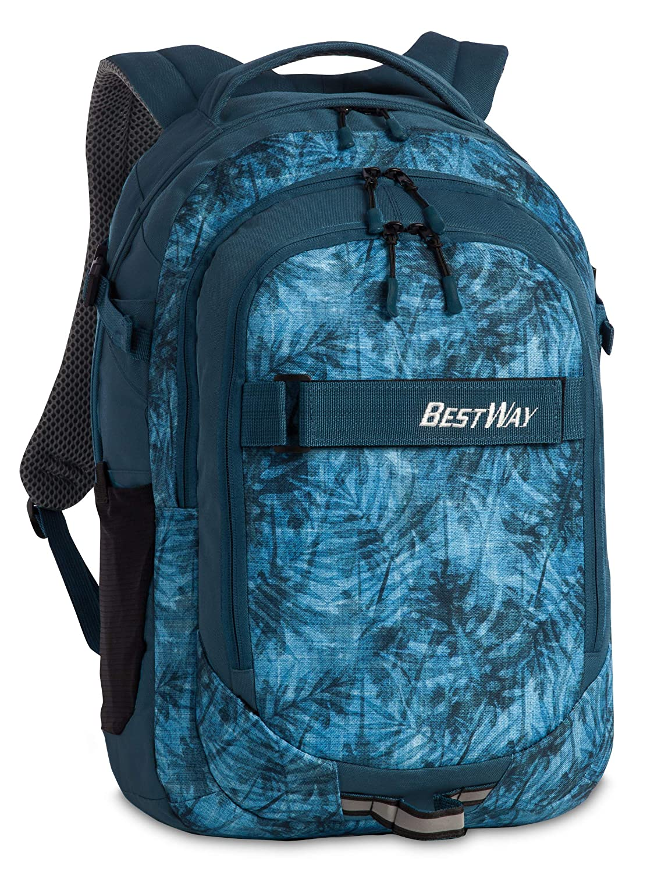 Bestwayベストウェイエボリューションエアーカジュアルデイパック、48 cm、22リットル、ブルー(Graublau)   B07BFLX369