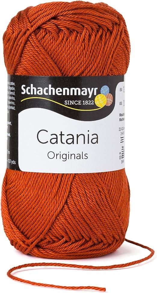 De color marrón verano lana Catania fabricado en algodón de ...