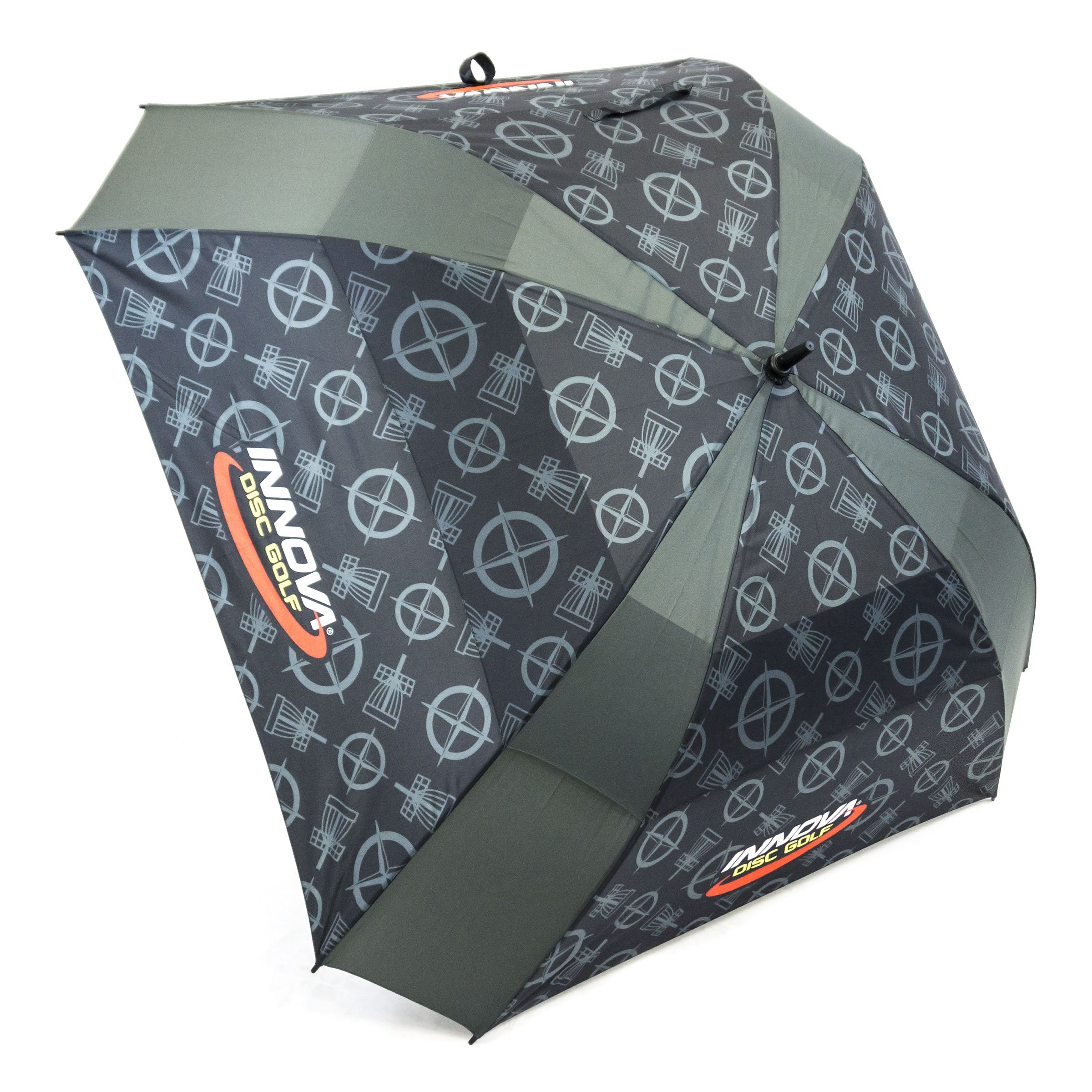 INNOVA Disc Golf Proto Pattern Golf Umbrella - Black