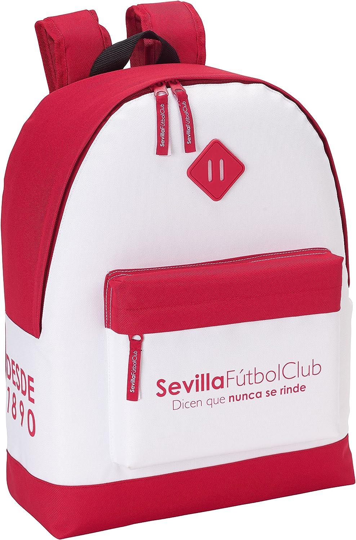 Safta Mochila Sevilla F.C. Oficial Mochila juvenil 325x150x430mm