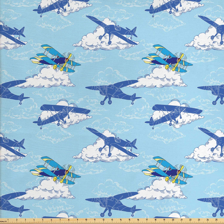 1 yard Airplanes Fabric
