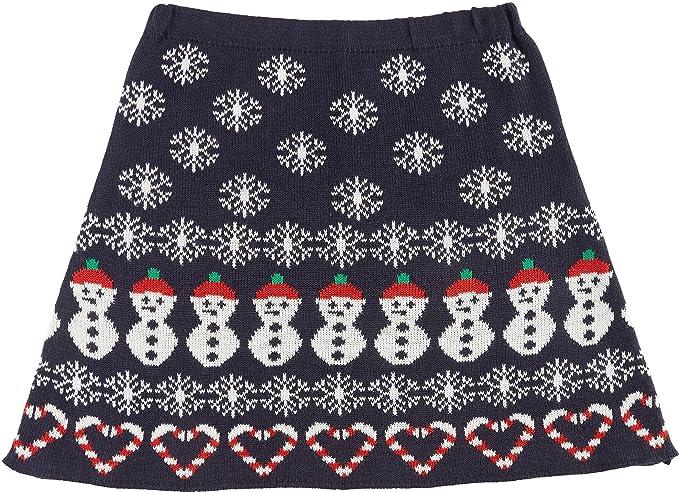 Christmas Snowman Skirt