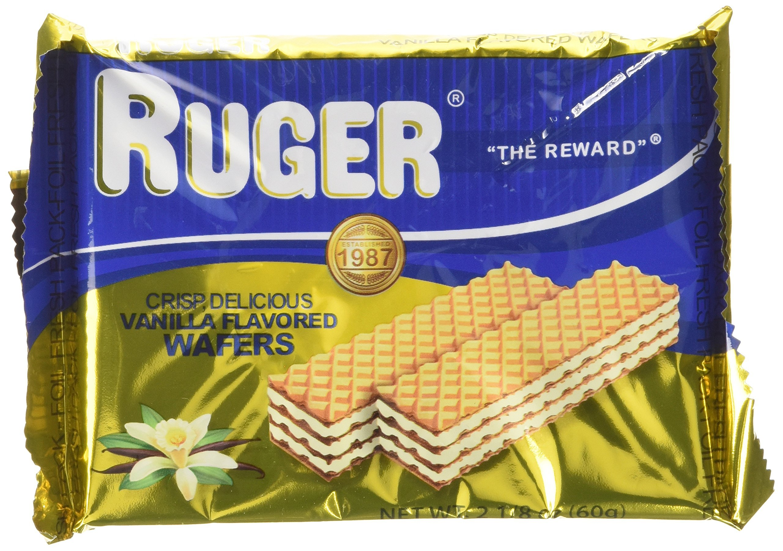 Ruger Vanilla Austrian Wafers by Ruger Wafers