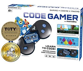 Thames & Kosmos 620141 Code Gamer Coding Workshop and Game (iOS and Android  Compatible)