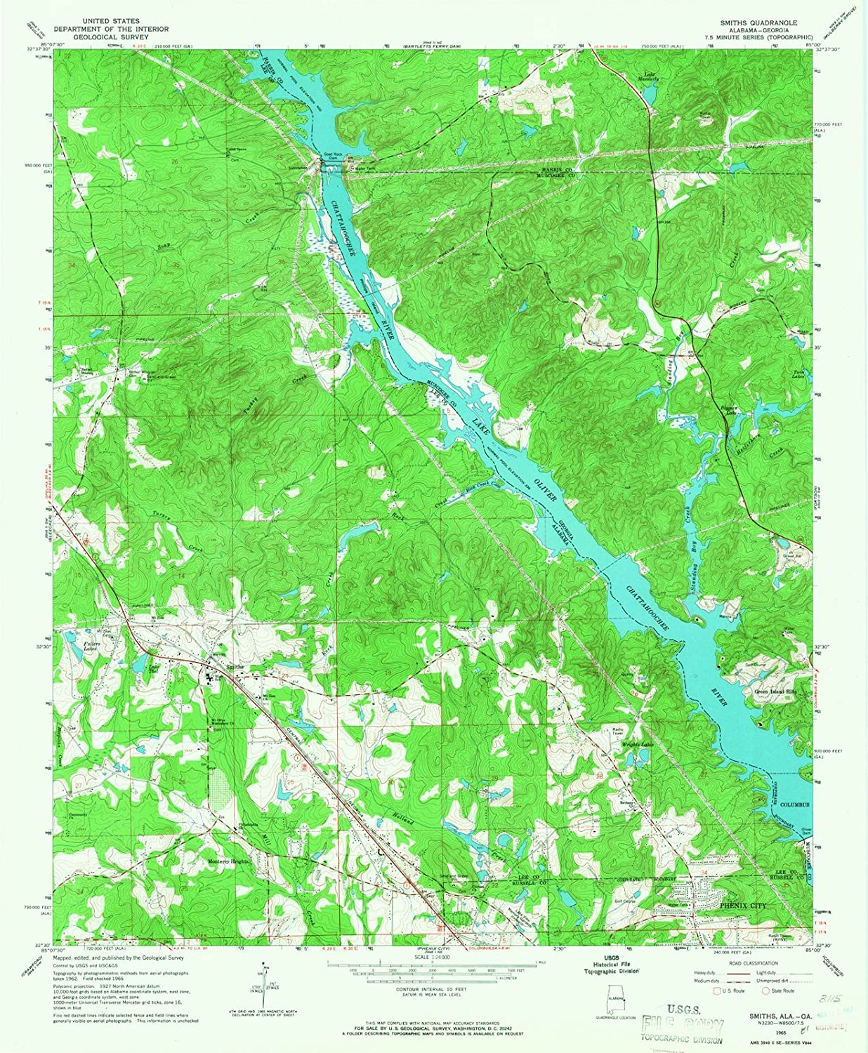 Amazon.com: Alabama Maps | 1965 Smiths, AL USGS Historical ... on interstate 30 map, interstate map of mississippi and alabama, interstate 85 map, lincoln way map, new jersey route 1 map, interstate highway map, interstate 526 map, interstate 75 map, interstate 70 map, interstate 27 map, us highway 78 map, interstate 80 map, interstate 25 map, interstate 10 map, interstate 422 map, interstate 26 map, interstate 44 map, interstate 74 map,