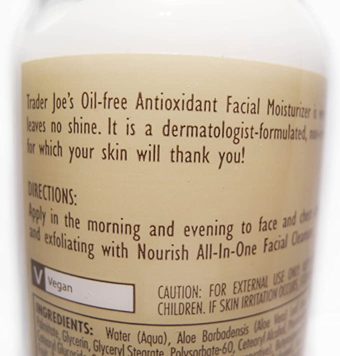 Nourish Enriched Intensive Facial Antioxidant Moisturizer by Trader Joe's #13