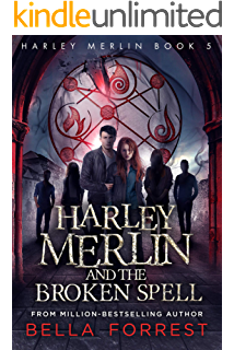 Amazon com: Harley Merlin 3: Harley Merlin and the Stolen