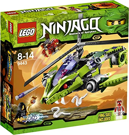 Amazon.com: LEGO Ninjago rattlecopter 9443: Toys & Games